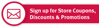 Sign up for exclusive Store Coupons, Discounts & Promotions